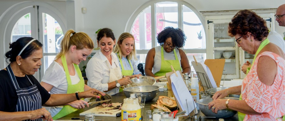 Modern Caribbean Cooking Class by Helmi Smeulders