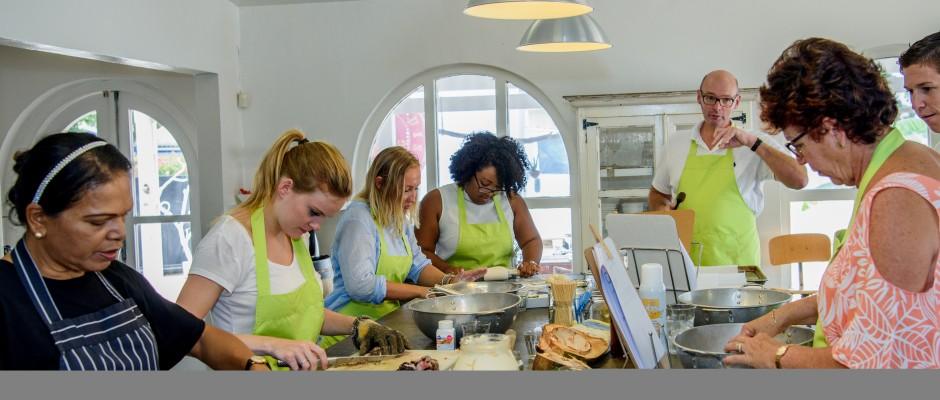 Modern Caribbean Cooking Class met Helmi Smeulders